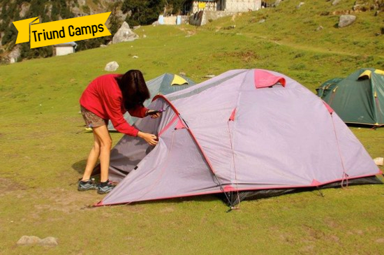 Triund Camps